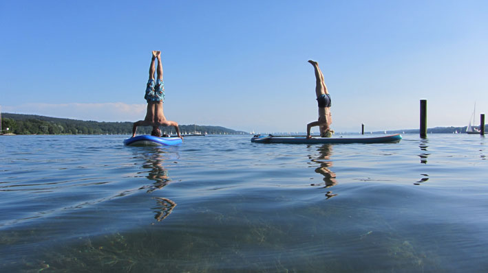 Shirshasana SUP